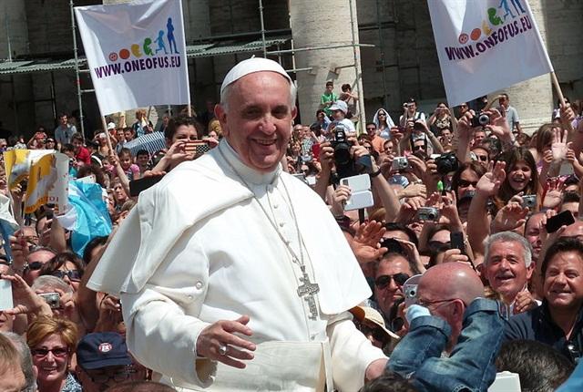 Pope Francis Image via Kino Border Initiative