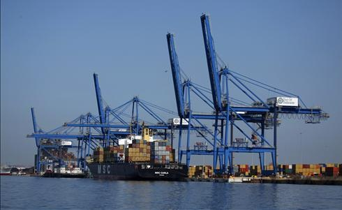 The Port of Baltimore.