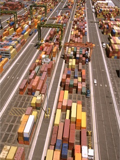 Containers at the Port of Long Beach. Photo: Port of Long Beach