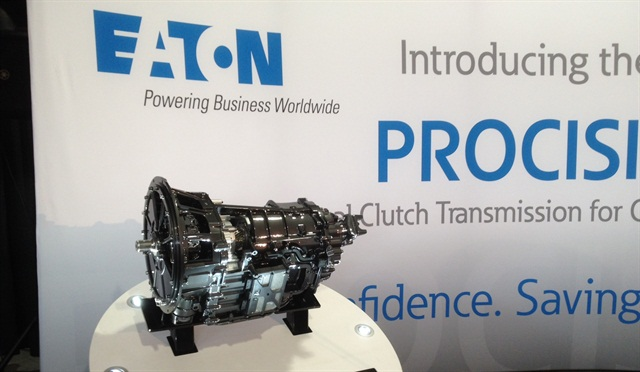 The Procision transmission was unveiled at Eaton's Marshall, Mich., proving grounds on Sept. 4. Photo: Jim Park
