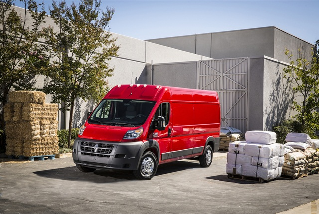 Photo of 2014 Ram ProMaster van courtesy of Chrysler Group.