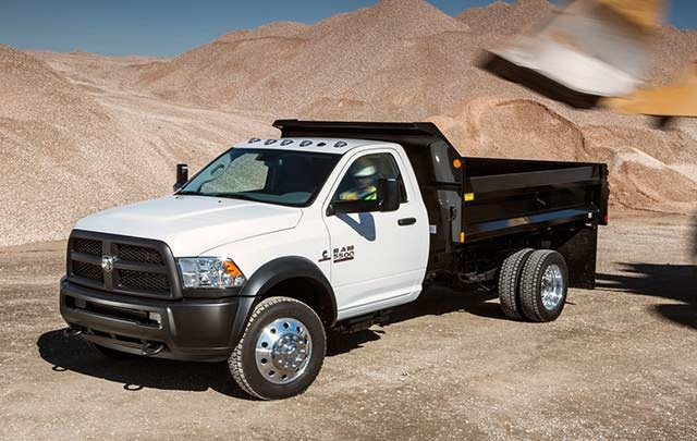 Photo of Ram 5500 Chassis Cab courtesy of Chrysler.