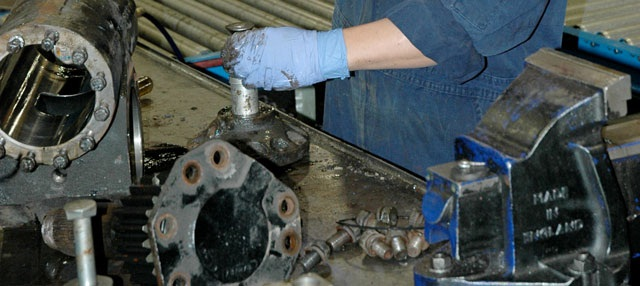 Mascot transmission remanufacturing. File photo: Jim Park