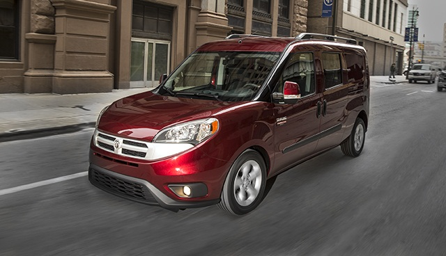ProMaster City is a beefed-up, Americanized version of the Fiat Doblo van.