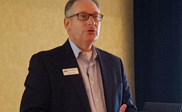 Robert Voltmann, president and CEO of the Transportation Intermediaries Association Photo: Jim Beach