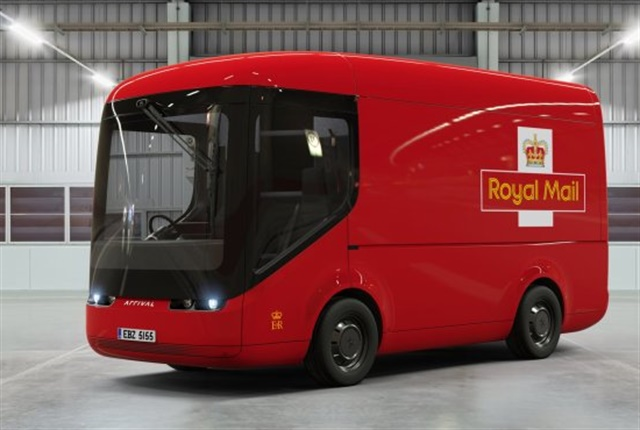 Craig pointed out that without the traditional drivetrain, chassis makers can be more creative, like this electric van being test by the UK's Royal Mail.