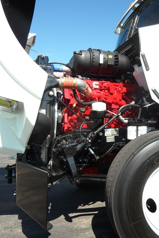 Cummins' recently released ISX12-G is powerful enough for high gross-weight highway operations, so has sparked much interest among fleet managers interested in natural gas.