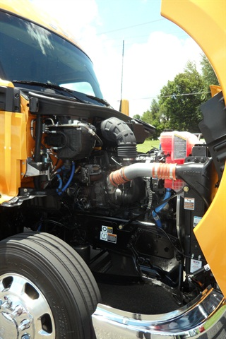 Modern diesels like the Paccar MX-13 and the fuel's high energy density will continue to make diesel the dominant power source for Class 8 trucks, KW believes.