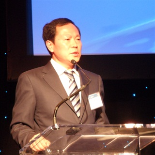 Wang Jinyou, Foton's general manager, envisions his trucks being sold outside of China, including the U.S.