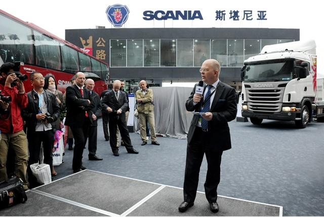 Helping fuel a strong drive toward European trucks is a new emphasis on total ownership costs, the Bain study found. Photo: Scania