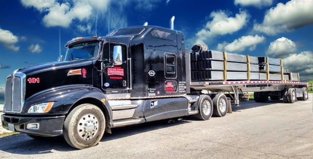 The Steelman Companies, which specializes in flatbed and heavy-haul freight, has joined the Daseke family of companies. Photo: Daseke