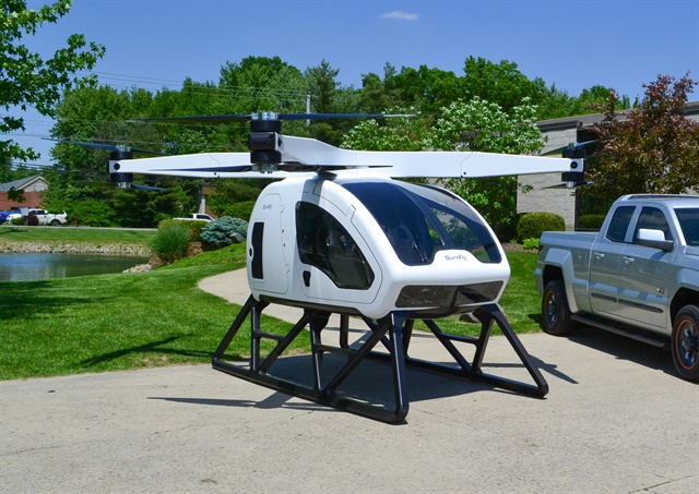 The SureFly Octocopter Photo: Workhorse Group