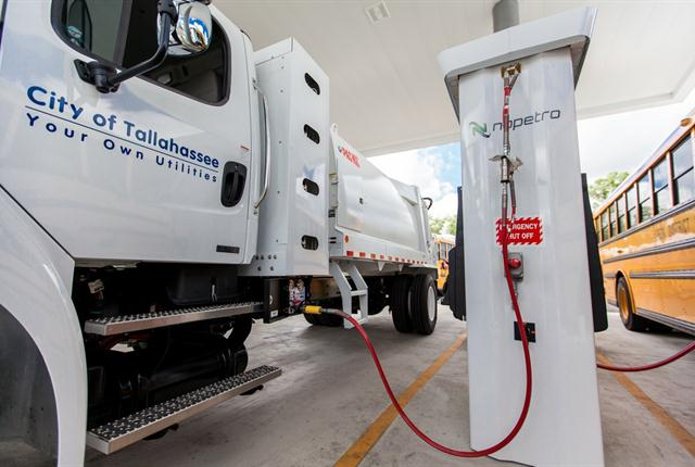 Nopetro anticipated dispensing 100,000 gallons during the initial year. Instead the facility provided an estimated 400,000 gallons of CNG fuel to serve the needs of its growing clientele.