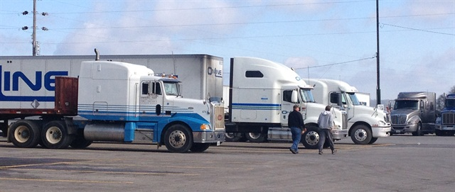 The driver lifestyle needs to be addressed in order to solve the driver shortage. Photo: Deborah Lockridge