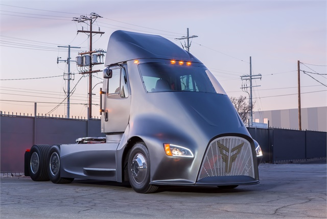 Thor Trucks is a new electric truck company initially focused on regional-haul applications. Photo: Thor Trucks