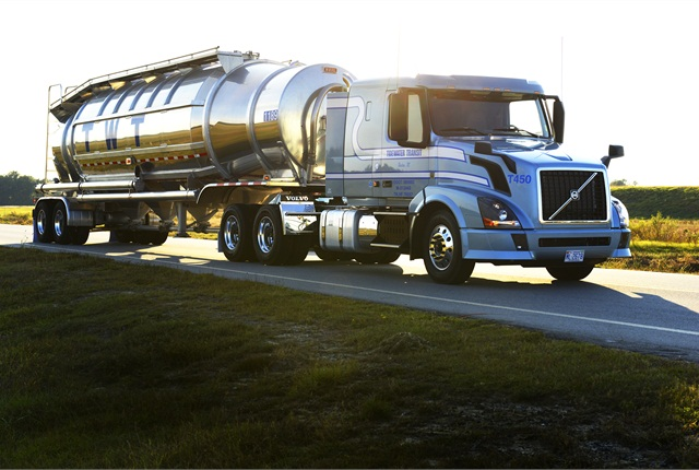 Tidewater Transit Co. of Kinston, N.C., won the Volvo Trucks Safety Award in the over 20 million miles category