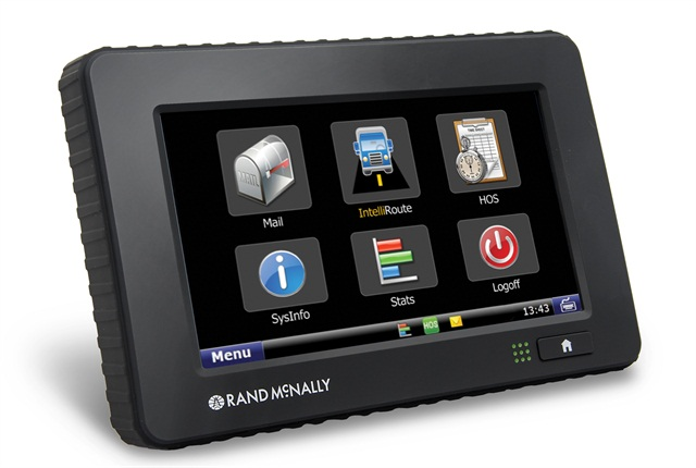 Rand McNally's TND760 device