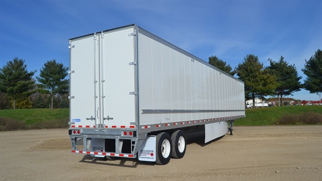 Net trailer orders rose 24% year-over-year driven partly by increasing freight demand. Photo: Stoughton
