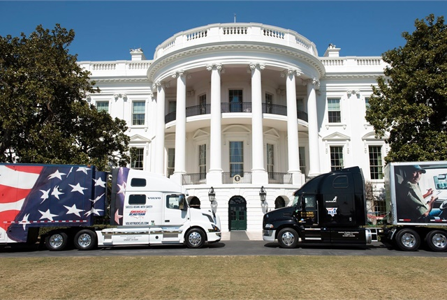 Sounds like Donald Trump was listening when ATA visited the White House. Photo: American Trucking Associations