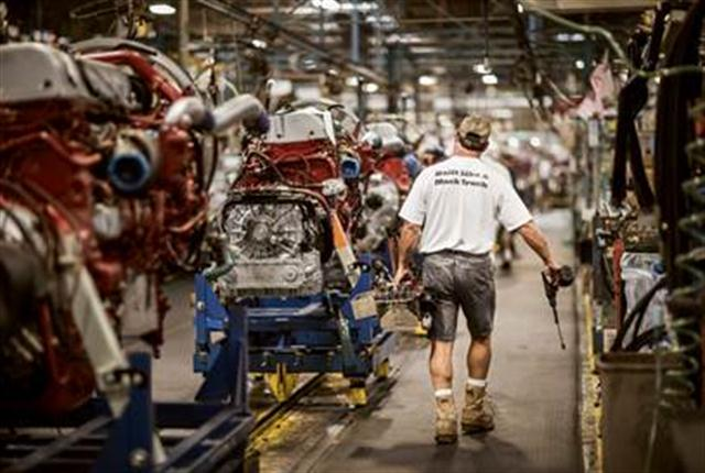 Mack Trucks' Macungie Cab & Vehicle Assembly facility is saving energy and cutting costs through the Environmental Defense Fund's Climate Corps Program.