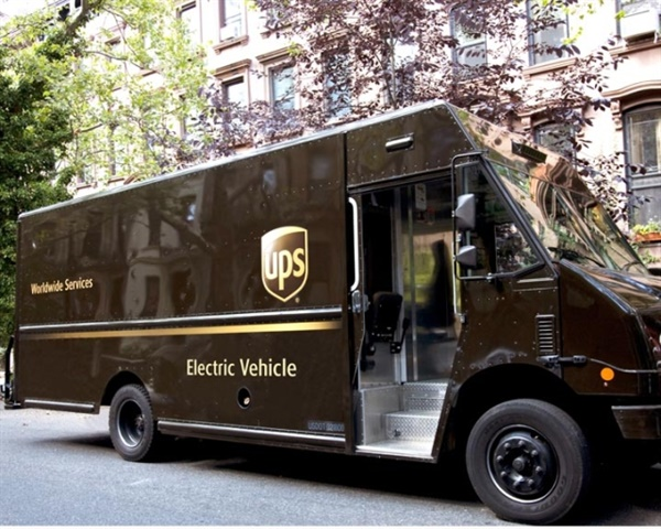 Photo courtesy of UPS.