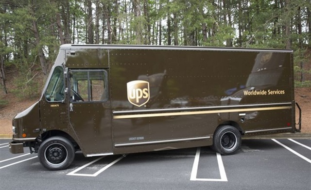 UPS and Workhorse are collaborating to deploy 50 electric delivery vans. UPS ordered 125 hybrid delivery vans from Workhorse in 2016 as well (pictured). Photo: UPS