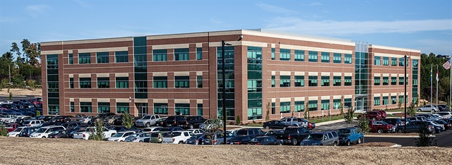 The joint Mack/Volvo Uptime center is located on the Volvo Group campus in Greensboro, N.C.