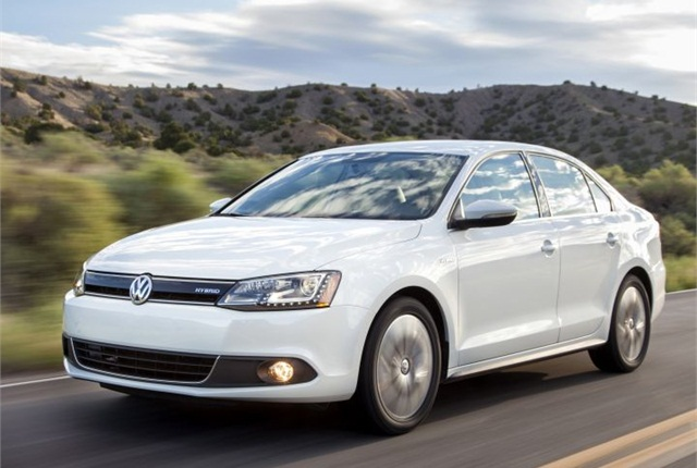 Photo of 2014 Jetta Hybrid courtesy of Volkswagen.