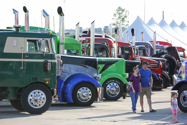 Last year's Walcott Truckers Jamboree attracted more than 42,000 attendees. Photo courtesy of Iowa 80 Truckstop