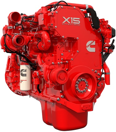 Cummins X15 Efficiency diesel's advanced combustion design merited the 2016 Technical Achievement Award. Photo: Cummins