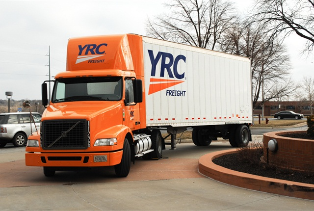 The move by YRC Freight is part of comprehensive reorganization plan.