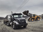 Available in 6x4 tandem, 8x4 tandem, and 8x6 tridem configurations, the Volvo VNX offers a wide range of heavy-haul components to ensure it's properly spec'd for the job. Photo: Volvo Trucks