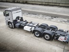 Mercedes Urban eTruck has a three-module battery pack between its