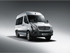Photo of 2014 Mercedes-Benz Sprinter courtesy of Daimler.