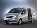 Chevy City Express will compete against Nissan's NV200, on which the new small Chevy van is based, and against Ford's Transit Connect.