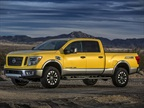 <p>The MY-2016 Nissan Titan XD will be equipped with a Cummins 5.0L V-8 Turbo Diesel. <em><strong>Photo: Nissan</strong></em></p>