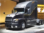 The Mack Anthem features an all-new exterior design with optimized