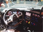 Inspired by racecar controls, a new flat-bottom steering wheel is a