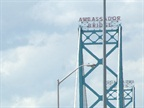 The Ambassador Bridge could open to trucks hauling some hazardous materials.