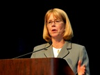 FMCSA Administrator Anne Ferro. (File photo by Jim Park)