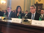 ATA chief Chris Spear testifying on autonomous truck technology to Senate panel on Sept. 13. Photo: ATA, via Twitter