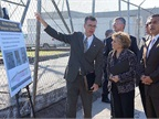 Sen. Barbara Boxer visiting a bridge project in Los Angeles. Photo: boxer.senate.gov