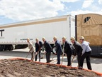 CRST breaks ground on new headquarters. Photo via Amperage PR
