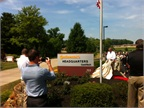 ContiTech NAFTA unveils its new headquaters sign. Photo via ContiTech