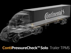 The ContiPressureCheck Solo Trailer TPMS operates separately from a tractor's system. Image: Continental