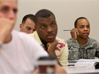 Vets taking part in classroom job training. Photo: U.S. DOT