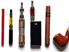 Electronic nicotine-delivery system products Image: FDA