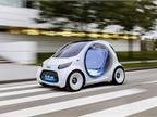 Photo of self-driving car courtesy of SmartUSA/Mercedes-Benz.