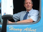 Henry Albert, president of Albert Transport Inc. Photo via Albert Transport.