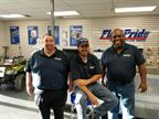 FleetPride employees celebrate the opening of the company's first New Orleans branch.<br />Photo: FleetPride